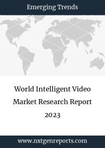 World Intelligent Video Market Research Report 2023