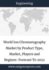 World Ion Chromatography Market by Product Type, Market, Players and Regions-Forecast To 2022