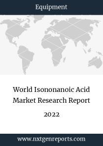 World Isononanoic Acid Market Research Report 2022