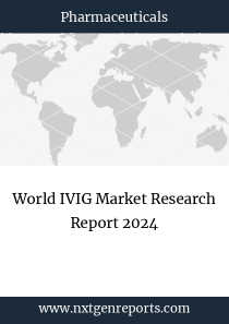 World IVIG Market Research Report 2024