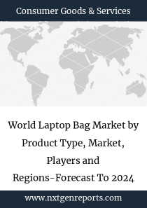 World Laptop Bag Market by Product Type, Market, Players and Regions-Forecast To 2024