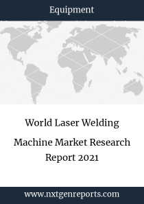 World Laser Welding Machine Market Research Report 2021