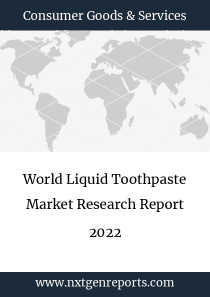 World Liquid Toothpaste Market Research Report 2022