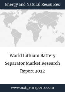 World Lithium Battery Separator Market Research Report 2022