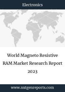 World Magneto Resistive RAM Market Research Report 2023