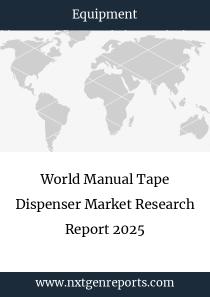 World Manual Tape Dispenser Market Research Report 2024