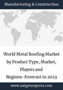 World Metal Roofing Market by Product Type, Market, Players and Regions-Forecast to 2023