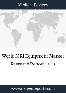 World MRI Equipment Market Research Report 2022