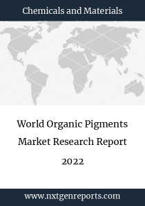World Organic Pigments Market Research Report 2022