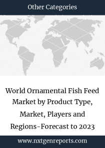 World Ornamental Fish Feed Market by Product Type, Market, Players and Regions-Forecast to 2023