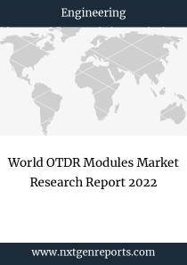 World OTDR Modules Market Research Report 2022