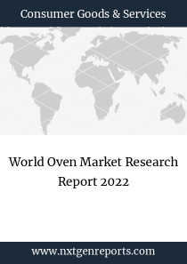 World Oven Market Research Report 2022