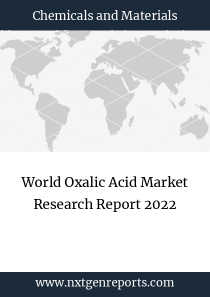 World Oxalic Acid Market Research Report 2022