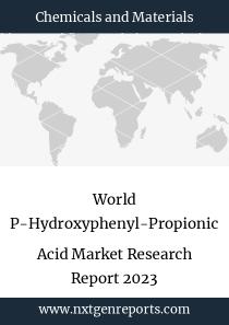 World P-Hydroxyphenyl-Propionic Acid Market Research Report 2023