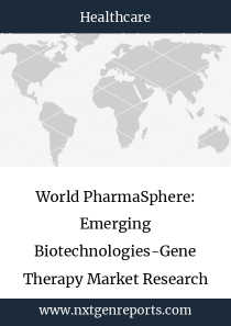World PharmaSphere: Emerging Biotechnologies-Gene Therapy Market Research Report 2023