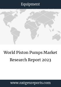 World Piston Pumps Market Research Report 2023