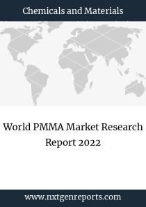 World PMMA Market Research Report 2022