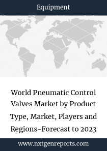 World Pneumatic Control Valves Market by Product Type, Market, Players and Regions-Forecast to 2023