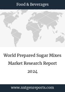 World Prepared Sugar Mixes Market Research Report 2024