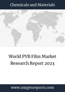 World PVB Film Market Research Report 2023