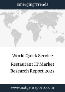 World Quick Service Restaurant IT Market Research Report 2023