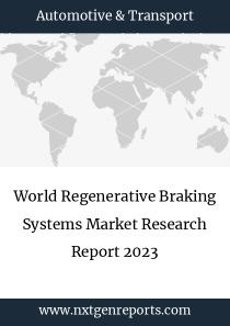 World Regenerative Braking Systems Market Research Report 2023