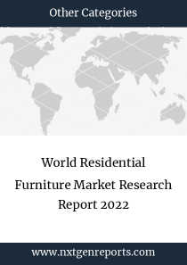 World Residential Furniture Market Research Report 2022