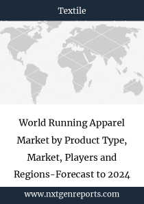 World Running Apparel Market by Product Type, Market, Players and Regions-Forecast to 2023