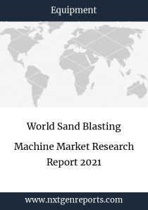 World Sand Blasting Machine Market Research Report 2021