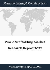World Scaffolding Market Research Report 2022