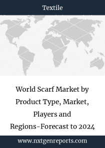 World Scarf Market by Product Type, Market, Players and Regions-Forecast to 2023