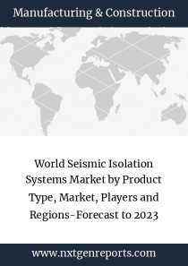 World Seismic Isolation Systems Market by Product Type, Market, Players and Regions-Forecast to 2023
