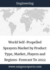 World Self-Propelled Sprayers Market by Product Type, Market, Players and Regions-Forecast To 2022