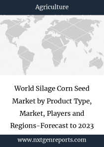 World Silage Corn Seed Market by Product Type, Market, Players and Regions-Forecast to 2023