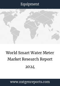 World Smart Water Meter Market Research Report 2024