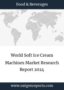 World Soft Ice Cream Machines Market Research Report 2024