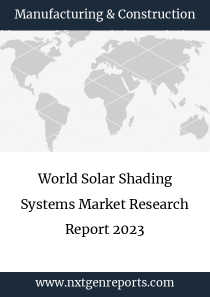 World Solar Shading Systems Market Research Report 2023