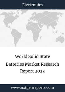 World Solid State Batteries Market Research Report 2023
