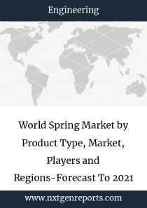 World Spring Market by Product Type, Market, Players and Regions-Forecast To 2021