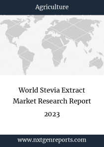 World Stevia Extract Market Research Report 2023