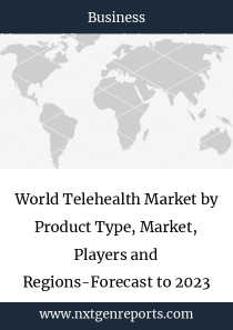 World Telehealth Market by Product Type, Market, Players and Regions-Forecast to 2023
