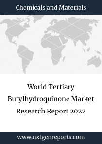 World Tertiary Butylhydroquinone Market Research Report 2022