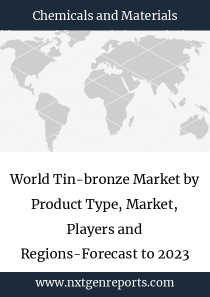World Tin-bronze Market by Product Type, Market, Players and Regions-Forecast to 2023