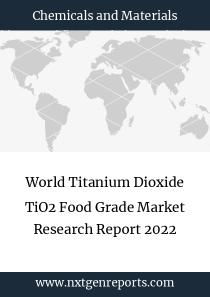 World Titanium Dioxide TiO2 Food Grade Market Research Report 2022
