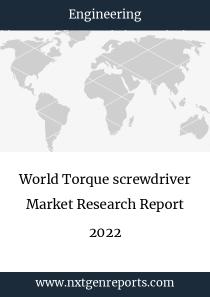 World Torque screwdriver Market Research Report 2022