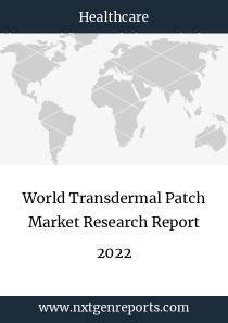 World Transdermal Patch Market Research Report 2022