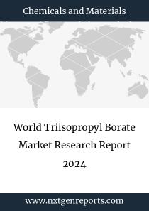 World Triisopropyl Borate Market Research Report 2024