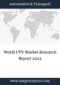 World UTV Market Research Report 2023