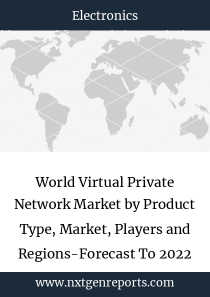 World Virtual Private Network Market by Product Type, Market, Players and Regions-Forecast To 2022