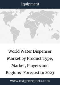 World Water Dispenser Market by Product Type, Market, Players and Regions-Forecast to 2023